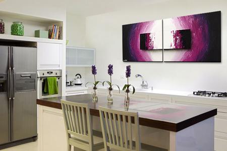 wandbilder f r die k che haus design ideen. Black Bedroom Furniture Sets. Home Design Ideas