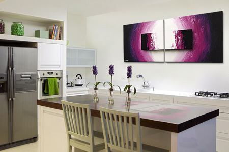 stunning wandbilder f r k che images ideas design. Black Bedroom Furniture Sets. Home Design Ideas