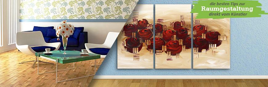 bilder 3 teilig kaufen gedruckt oder handgemalt dreiteilig. Black Bedroom Furniture Sets. Home Design Ideas