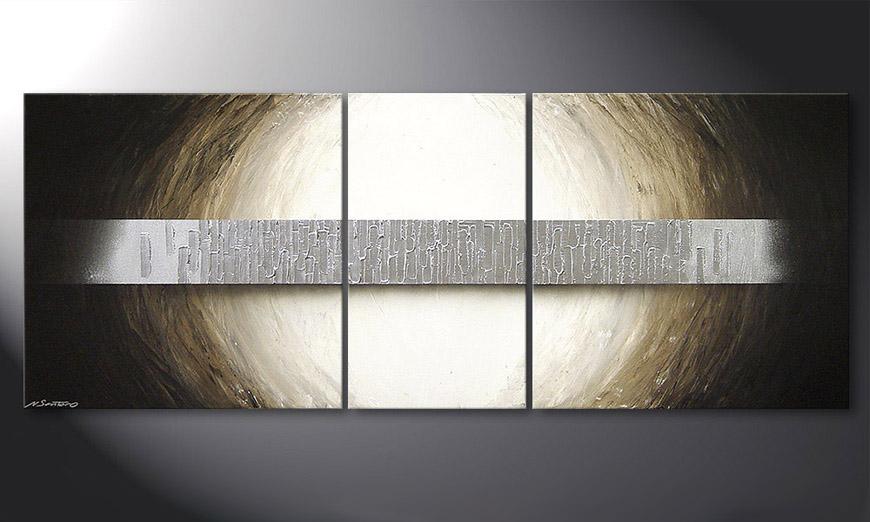 Das Wandbild Overcome an Abstracle 180x70cm - Wandbilder XXL