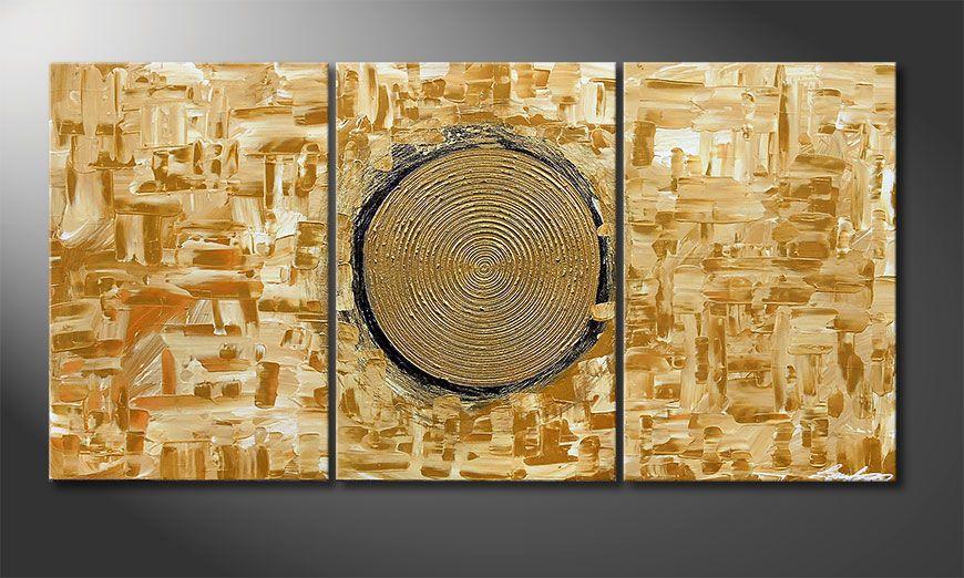 Kinder Tapeten Auf Rechnung : Das Wandbild Golden Sun 120x60cm – Wandbilder XXL