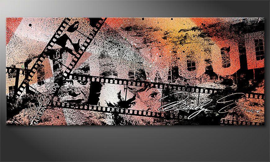 Kinder Tapeten Auf Rechnung : Das moderne Wandbild Hollywood 120x50cm – Wandbilder XXL