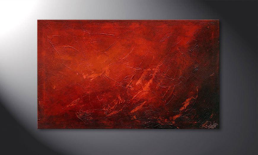 Das wandbild red 100x60cm wandbilder xxl - Kinder wandbilder ...