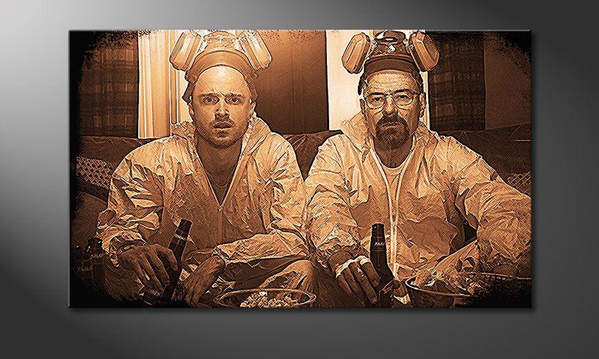 Kinder Tapeten Auf Rechnung : Das moderne Bild Breaking Bad 100x60cm – Wandbilder XXL