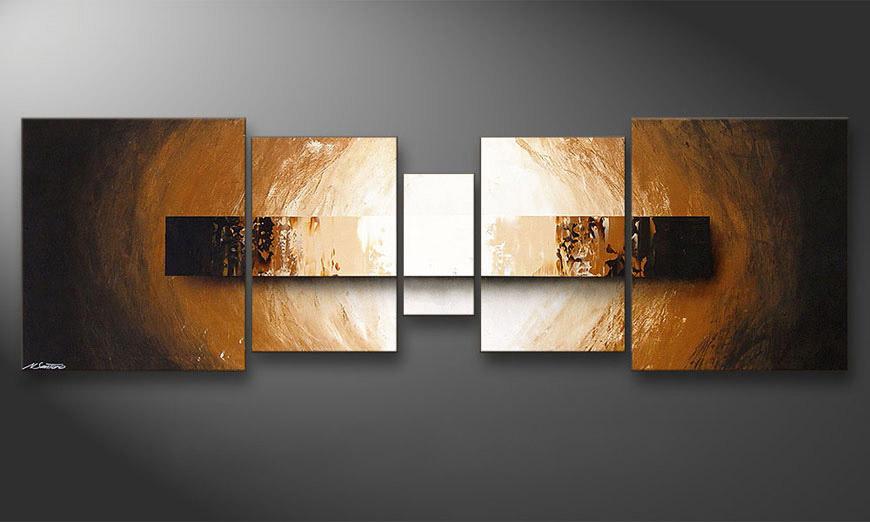 das wandbild illuminated earth 220x70cm wandbilder xxl. Black Bedroom Furniture Sets. Home Design Ideas