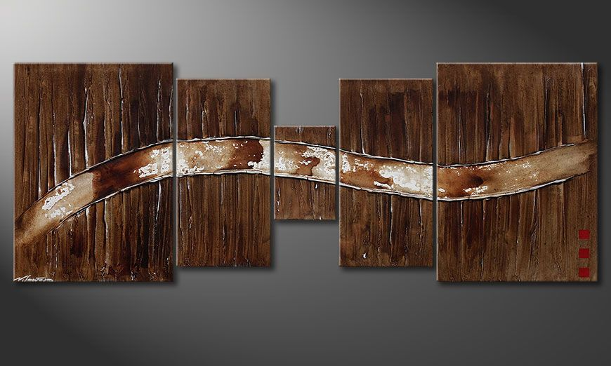 das wandbild frozen moments 180x70cm wandbilder xxl. Black Bedroom Furniture Sets. Home Design Ideas
