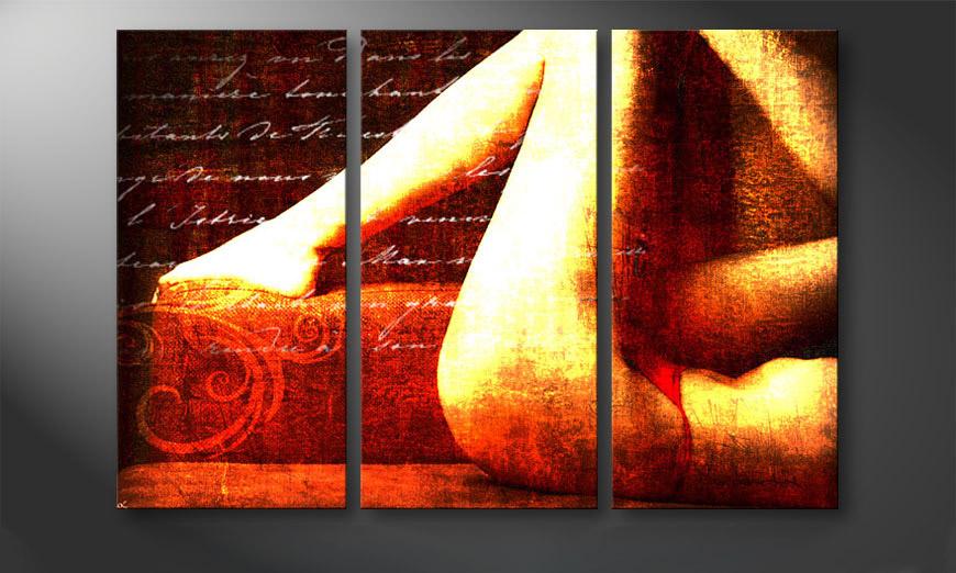 das erotische bild memories in 120x80cm wandbilder xxl. Black Bedroom Furniture Sets. Home Design Ideas