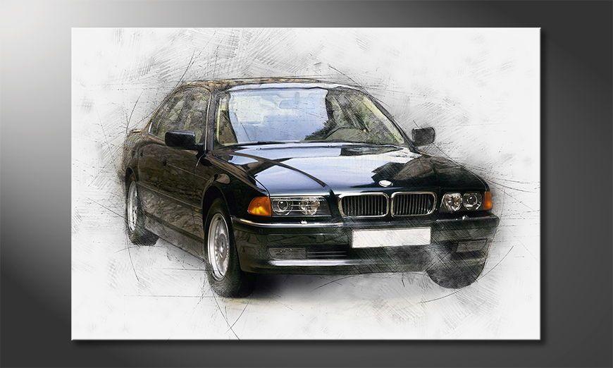 Cars Tapete Auf Rechnung : Das moderne Bild Seven – Wandbilder XXL