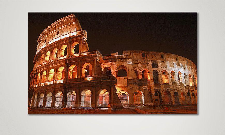 Kinder Tapeten Auf Rechnung : Das moderne Bild Colosseum 100x60cm – Wandbilder XXL