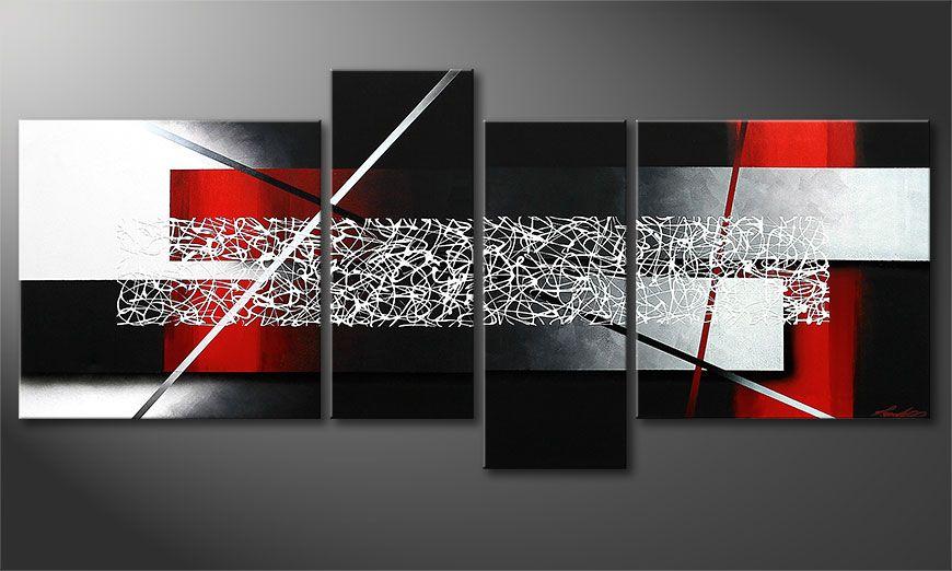 Das wandbild sudden inspiration 180x80cm wandbilder xxl for Wandbild xxl wohnzimmer