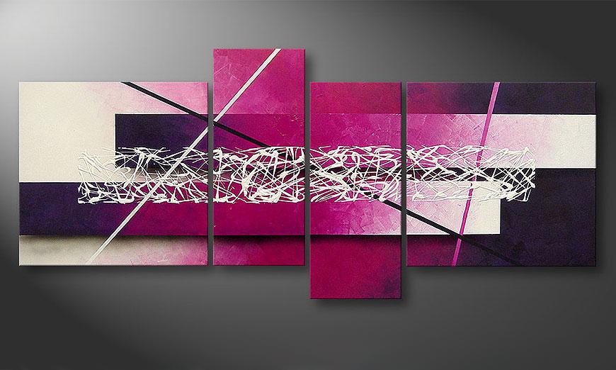 Das leinwandbild connection 180x80cm wandbilder xxl - Moderne wandbilder auf leinwand ...