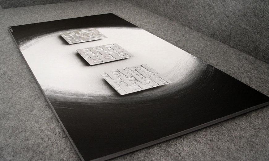 Cars Tapete Auf Rechnung : Das XXL Bild Cubes of Silver 140x70cm – Wandbilder XXL