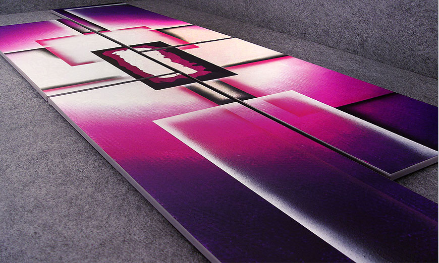 unser xxl bild purple sun in 250x80cm wandbilder xxl. Black Bedroom Furniture Sets. Home Design Ideas