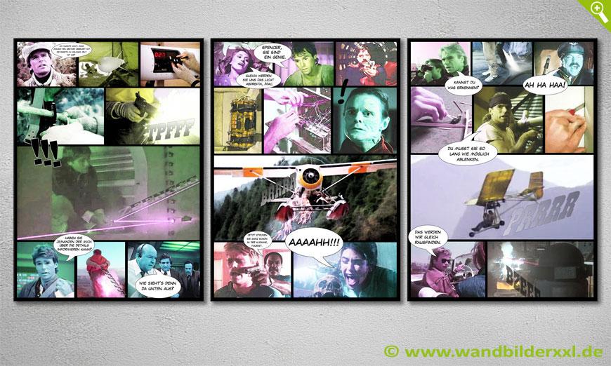 unser modernes wandbild mac gyver 150x70cm wandbilder xxl. Black Bedroom Furniture Sets. Home Design Ideas
