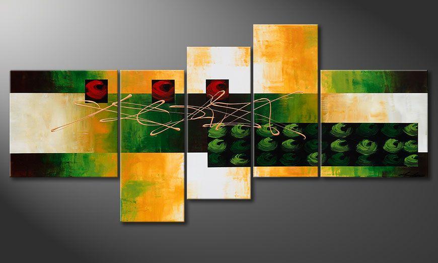 Das Bild Quiet Love 190x90x2cm Bild