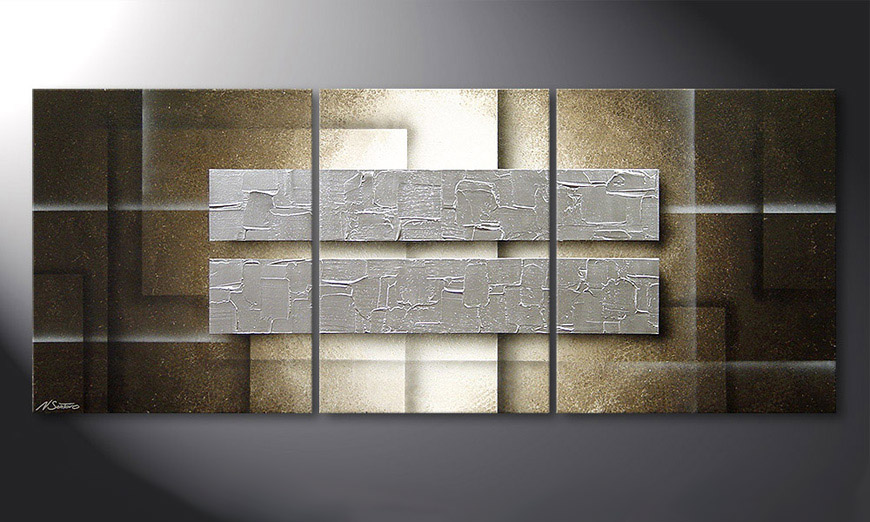 das wandbild frozen blocs 170x70cm wandbilder xxl