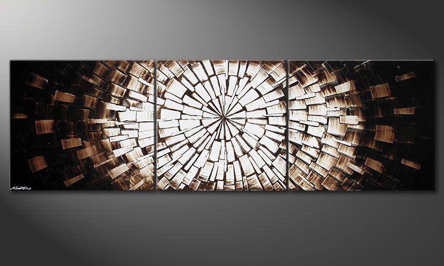 Das XXL Bild Center of Babylon 260x80x2cm