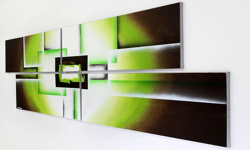 das xxl wandbild green spirit 245x80cm wandbilder xxl. Black Bedroom Furniture Sets. Home Design Ideas