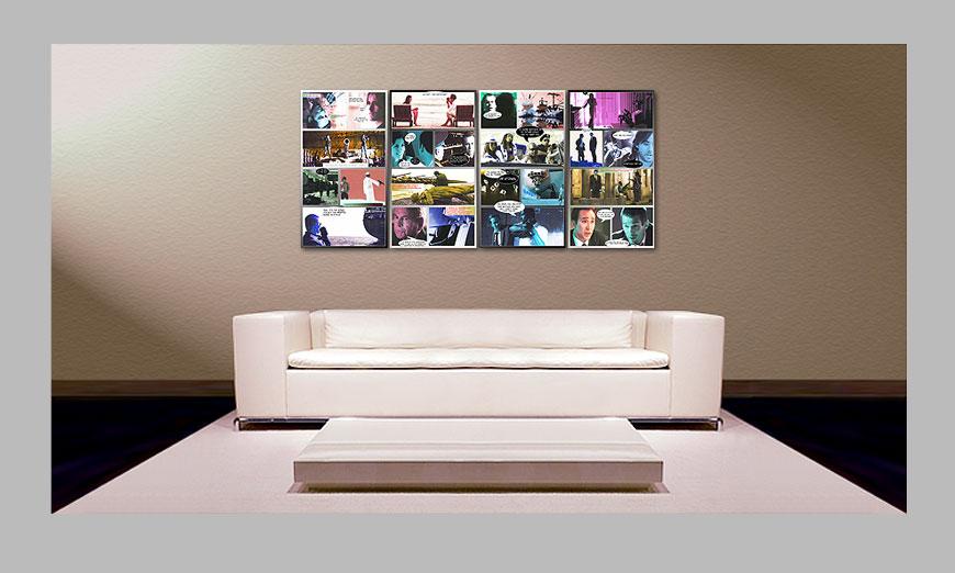 das gro e wandbild lord of war 160x70cm wandbilder xxl. Black Bedroom Furniture Sets. Home Design Ideas