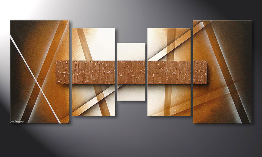Das moderne Bild Copper Spectacle 160x70x2cm