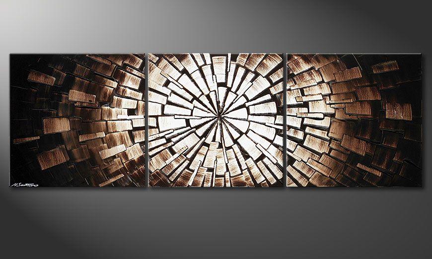 Das schöne Bild Center of Babylon 150x50x2cm