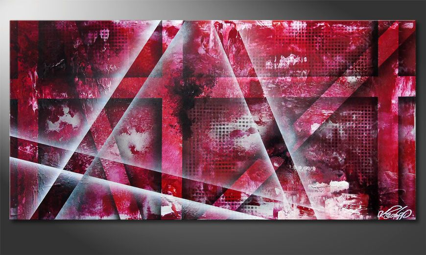 Favorable Emotion 100x50x2cm Wandbild