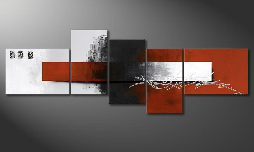 Unser XXL Gemälde Follow your Dream 260x90x2cm