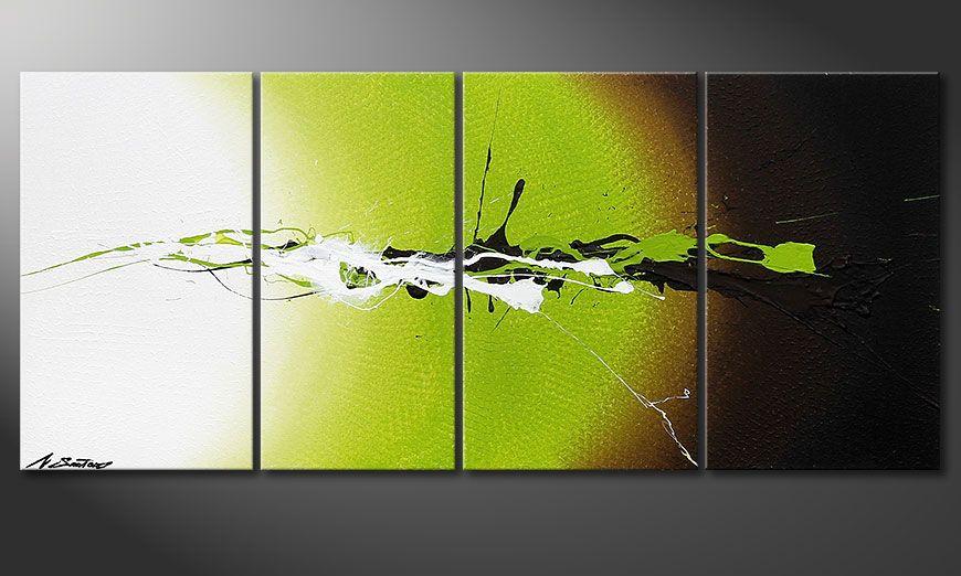 Wanddeko mit dem Bild Juicy Splash 115x50x2cm