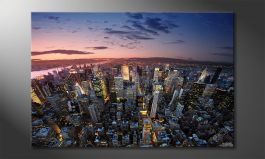 Das Wandbild<br>'New York Sky'