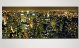 Das Leinwandbild 'Big Apple' 120x50cm