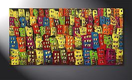Das Wandbild 'Beauty of a City' in 120x60cm