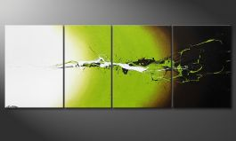 Das Wandbild 'Juicy Splash' in 190x70cm