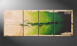 Das Wandbild 'Moment Of Hope' 180x70cm