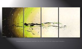 Das Wandbild 'Spirit of Nature' in 180x70cm