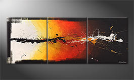 Das exklusive Bild 'Altercation' 180x70cm