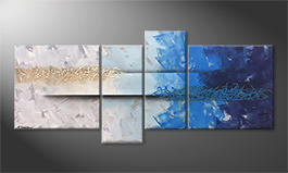 Das exklusive Bild 'Caught Wave' 180x80cm