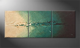 Das exklusive Bild 'Into The Depth' 180x70cm
