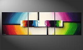 18900 das moderne bild colorful life ii 210x60cm - Moderne Bder