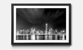 Gerahmte Wandbilder Mit Schwarz Weißen Fotomotiven Neu