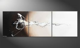 'Light Splash' 120x50cm Wandbild