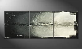 Original Handgemalt: 'Broken Night' 180x70cm