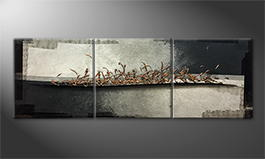 Original Handgemalt: 'Copper Way' 210x70cm
