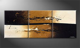 Original Handgemalt: 'Earth Quake' 180x70cm