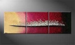 Original Handgemalt: 'Evolution' 180x60cm