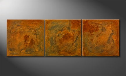 Original Handgemalt: 'Good Old Rusty' 210x70cm