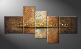Original Handgemalt: 'Lost Gold' 180x95cm