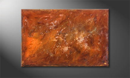 Original Handgemalt: 'Old Rust' 120x80cm