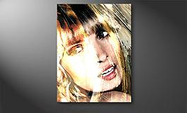 'The Girl' 80x100cm Wandbild