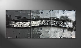 Unser Wandbild 'Between Contrasts' 170x70cm