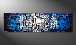 Unser Wandbild 'Emersion' 210x60cm